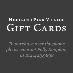Highland Park Village Gift Cards