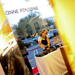 Anne Fontaine Opening